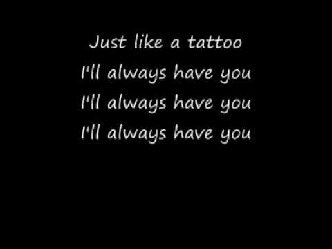 Jordin Sparks - Tattoo (with lyrics) Music Videos