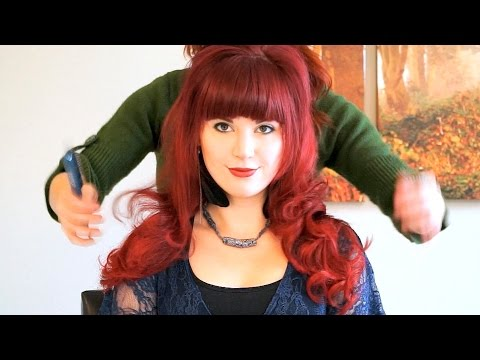 ASMR Hair Styling For Long Hair with Hair Brushing Sounds, Soft Spoken, Katie & Corey