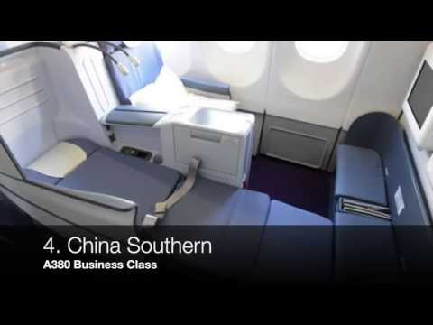Best Business Class Seats on Airbus A380 Aircraft