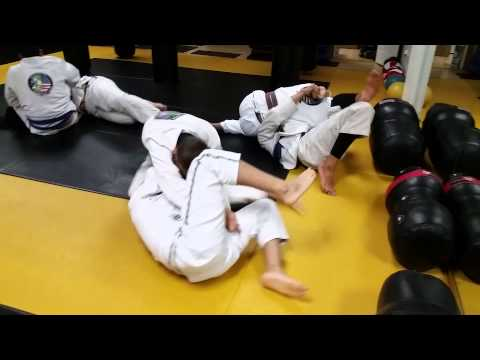 Adult BJJ Gi sparring