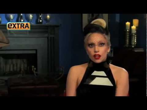 Lady Gaga on Extra Interview being named Forbes Top Celebrity !