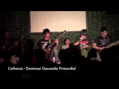 Catharsis - Dominasi Genosida Primordial (Live 2010)