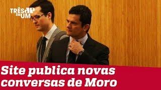 'The Intercept Brasil' divulga novas mensagens privadas entre Sergio Moro e Deltan Dallagnol