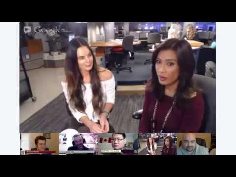 MyFOXLA Google+ Hangout: Gabrielle Anwar Talks Burn Notice