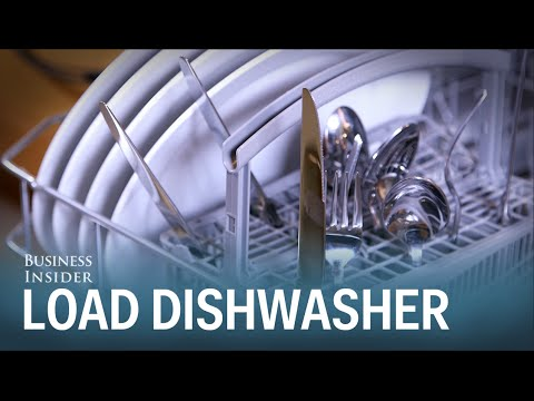 How To Load Your Dishwasher The Right Way