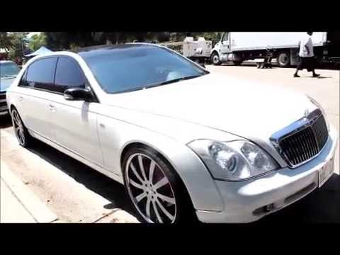 "Maybach 62s Game ""Celebration"" video Chris Brown, Wiz Khalifa, Tyga, Lil Wayne"