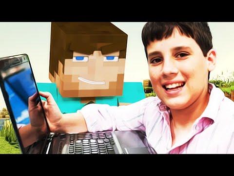 TROLLING A 7 YEAR OLD HACKER ON MINECRAFT Minecraft Trolling