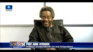 Prof. Akin Oyebode Reviews Consequences Of CJN Onnoghen's Trial
