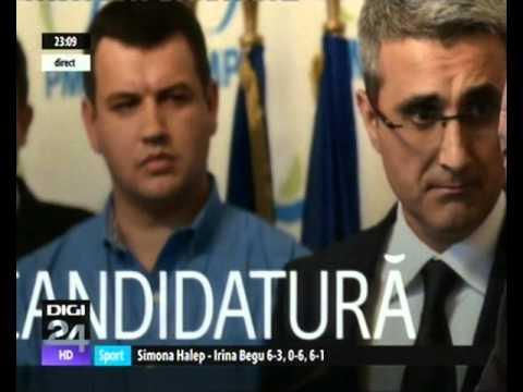 """Preşedintele PMP, Traian Băsescu, la """"24 într-o oră"""", la Digi24 TV"""