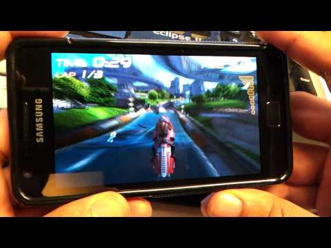 Tegra 2 game Riptide on Galaxy S2 Music Videos