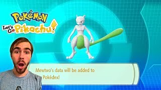 SOMEONE TRADED ME… SHINY MEWTWO IN POKEMON LET'S GO PIKACHU!