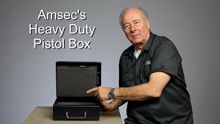 Amsec's HD Pistol Safe PS1210, strong USA made pistol box