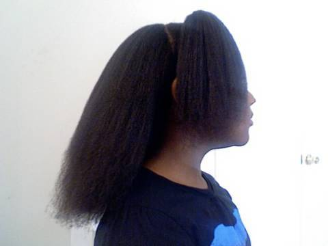 StraightenStretch 6 Yr Old Girls Natural Hair Blowout