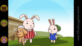 Muffin Songs   John The Rabbit  nursery rhymes & children songs with lyrics  muffin songs