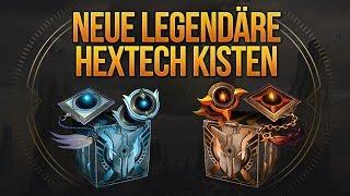 Neue Legendäre Hextech Kisten / Nightbringer Yasuo + Dawnbringer Riven Quests [League of Legends]