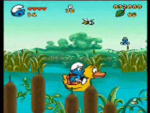 The Smurfs (Les Schtroumpfs) SNES - Act V
