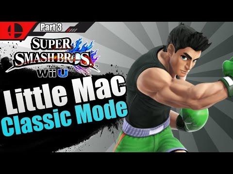 Super Smash Bros For WiiU - Little Mac Gameplay   Classic Mode Part 3! (HD + Webcam)