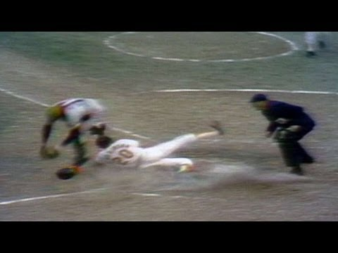 1971 WS Gm6: Brooks Robinson's sac fly forces Game 7