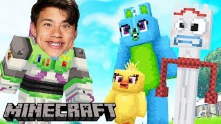 *NEW* Toy Story 4 In Minecraft! (BECOME FORKY?)
