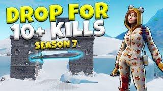 Easy High Kill Strategy In Fortnite Season 7! | Battle Royale Tips