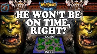Grubby | Warcraft 3 TFT | 1.29 | ORC v ORC on Echo Isles - He won't be on time, Right?
