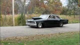 1967 Chevy Nova Burnout 2.950 Horsepower Extrem!
