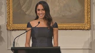 Duchess of Sussex addresses NZ women's suffrage