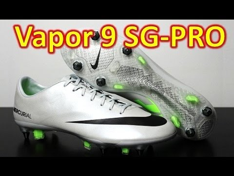 Nike Mercurial Vapor 9 IX SG-Pro Metallic Platinum - Unboxing + On Feet