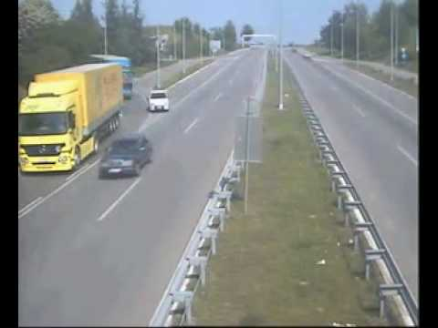 Crazy Truckers on European Highway