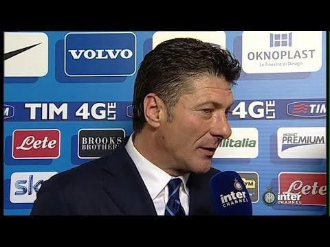 INTERVISTA WALTER MAZZARRI POST INTER-LAZIO