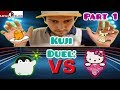 KUJI CUTENESS DUEL!!! Hello Kitty and Koupen Chans Epic Battle in Japan!