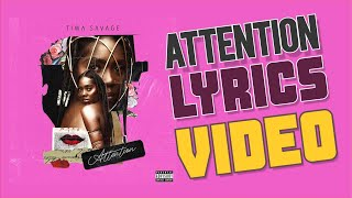 Tiwa Savage - ATTENTION OFFICIAL LYRICS VIDEO