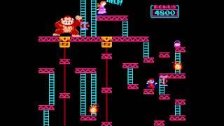 Arcade Longplay [499] Donkey Kong