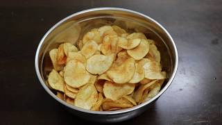 Crispy Potato Chips in Tamil