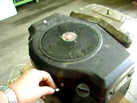 Test Run of 16 Hp Briggs & Stratton Twin Cylinder Tractor Engine