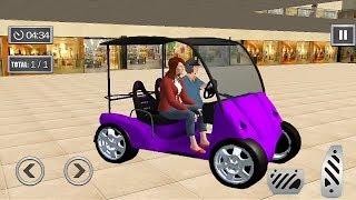 Shopping Mall Smart Taxi : Family Car Taxi Games | Tuk Tuk Auto Rickshaw Game | Auto Rickshaw Racing