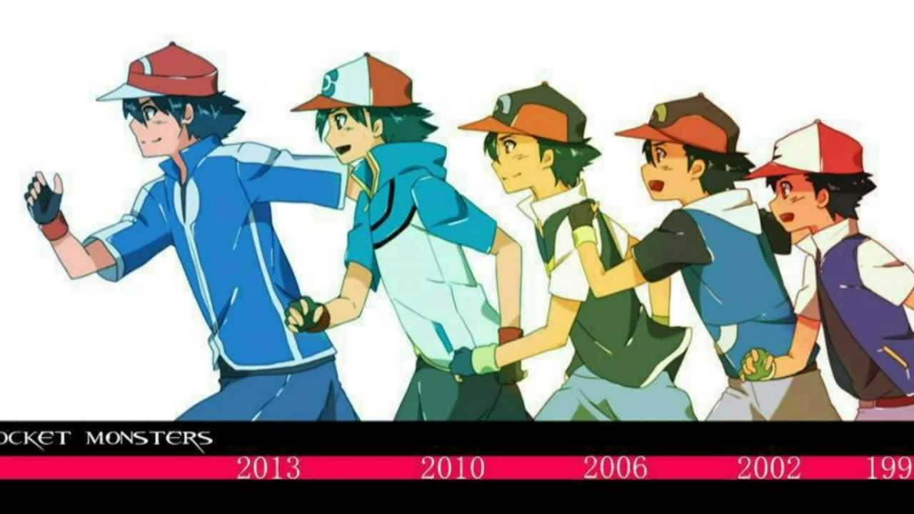 How old is ash ketchum youtube