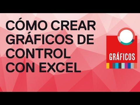 Cómo crear indicadores gráficos con Excel 2010. Gráfico de control (tendencia) en pocos minutos
