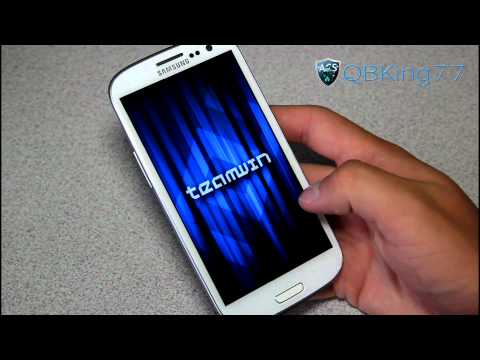 How to Install TWRP Recovery on the Sprint Samsung Galaxy S III