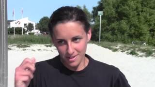 Giorno #6 - EURO 2013 Beach Handball: Serafini racconta lo 0-2 contro l'Ucraina