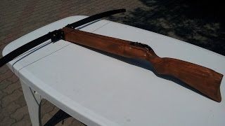 balestra fai da te (homemade crossbow)