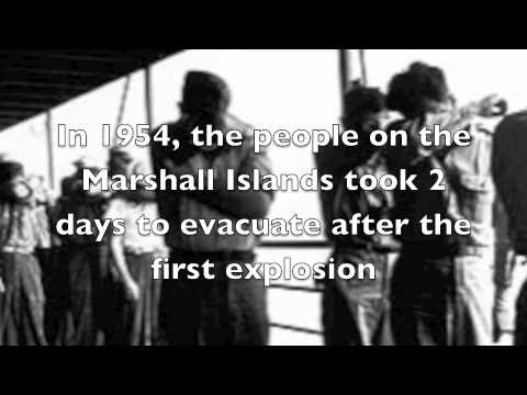 Marshall Island Atomic Bombing