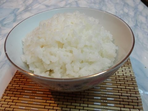 طريقة طهى الأرز الكورى 밥  Korean Style Steamed Rice Music Videos
