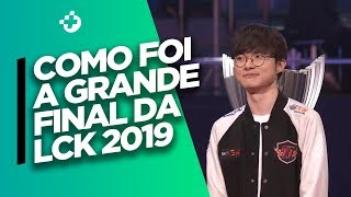 SKT VS GRIFFIN: A FINAL DA LCK FOI... SURPREENDENTE!