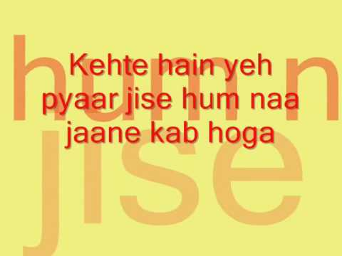 Bade Acche Lagte Hain full song lyrics...