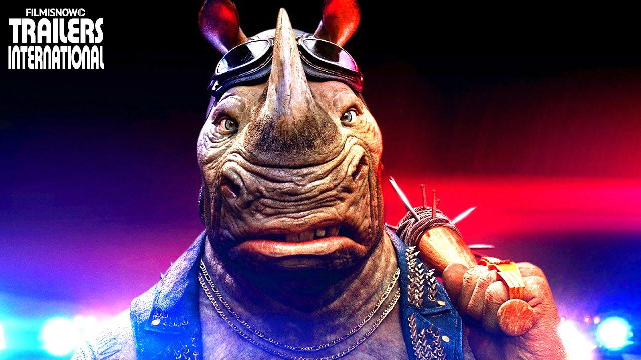 As Tartarugas Ninja: Fora das Sombras | Stephen Farrelly é 'Rocksteady'