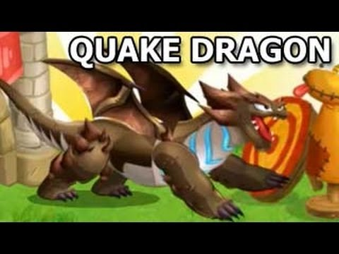 How To Breed QUAKE DRAGON in Dragon City Breeding Sanctuary
