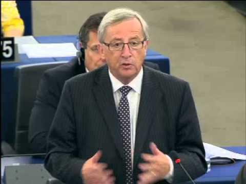 Jean-Claude Juncker clashe Marine Le Pen