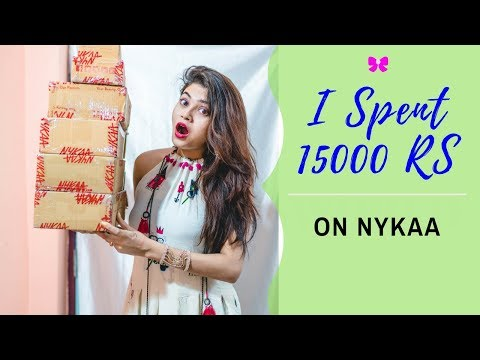 HUGE NYKAA SALE HAUL | 50 Rs - 995 Rs | Cheap Rates | Affordable Products