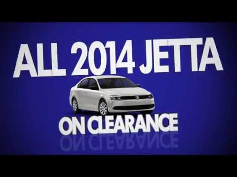 2014 Volkswagen Jetta model year end clearance sales event at Gunther Volkswagen of Fort lauderdale